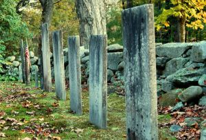 Gravestones in New Hampshire