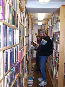 Bookstore Tourism.  Click here for more travel information...