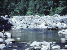 Mt. Washington Valley's Natural Swimming Holes.  Click here for more stories about NH...