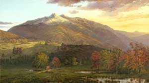Mounts Madison & Adams.  Painting by Horace Wolcott Robbins Jr. 1863-65.  Private Collection.