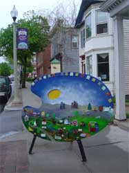 The Palettes of Burlington, Vermont.  Click here for story...