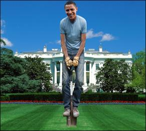 Gardener-in-Chief Obama