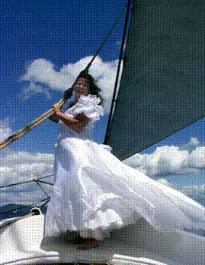 Windjammer Wedding - Photo by David Beaulieu