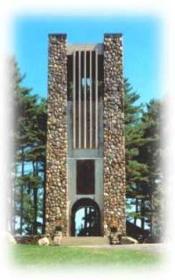 Bell Towers at Cathedral of the Pines, New Hampshire